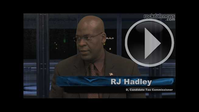 Click to play Conversations with the Candidates: Tax Commissioner Candidate RJ Hadley (D)