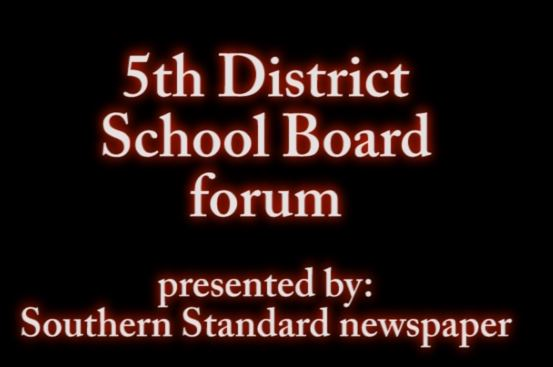 Click to play 5th District School Board forum