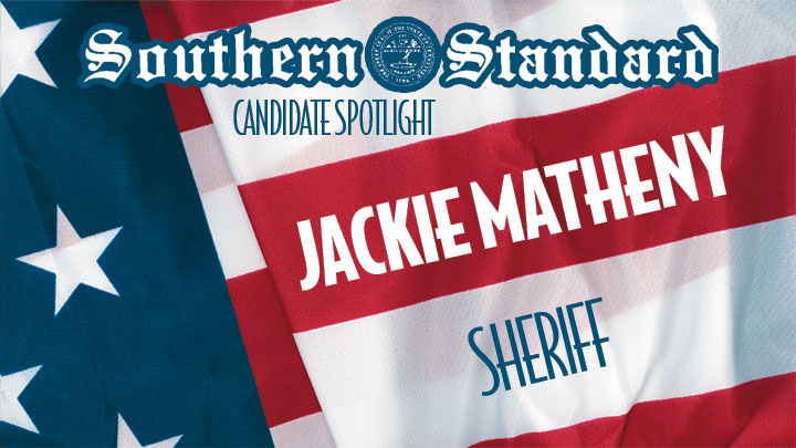 Click to play Jackie Matheny for Sheriff