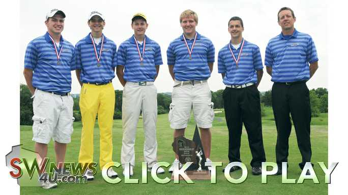 Click to play Lancaster golf team takes second at state