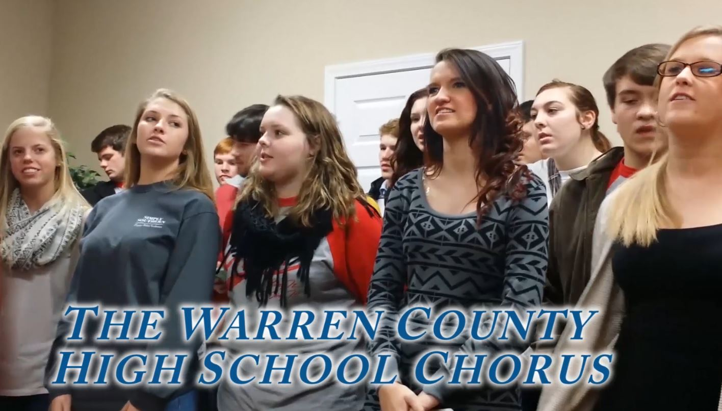 The Warren County High School Chrous