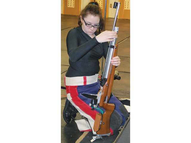 Rifle team barely misses at state