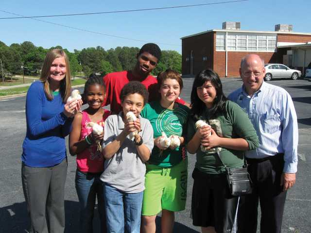 Barrow County students learn about the planet