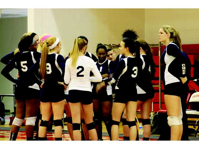 Volleycats outlast region tournament
