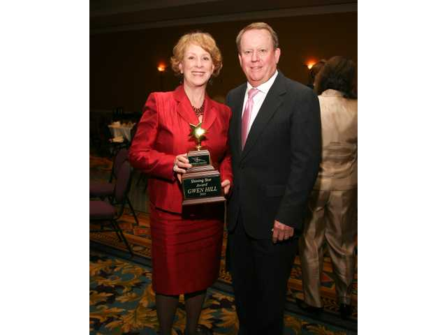 Chamber honors Gwen Hill at annual dinner