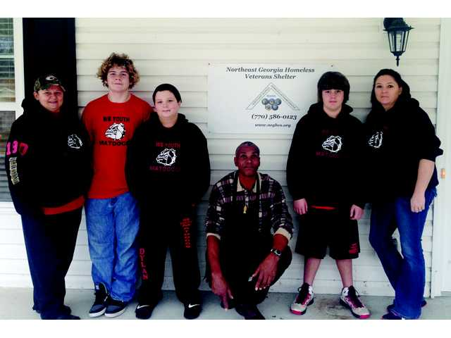 Winder-Barrow youth wrestlers provide local aid