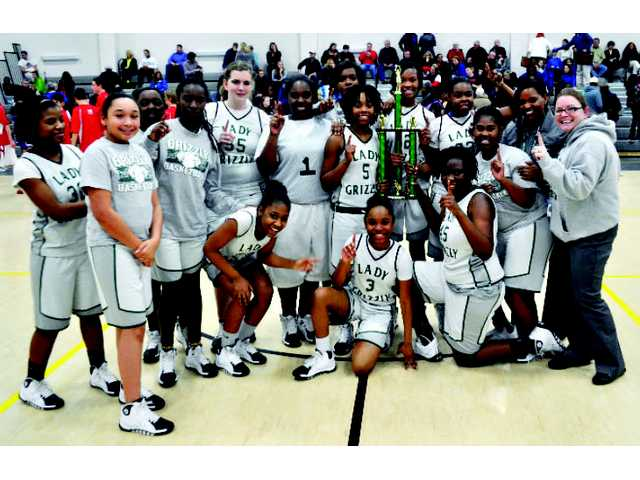 Bear Creel girls bring home title