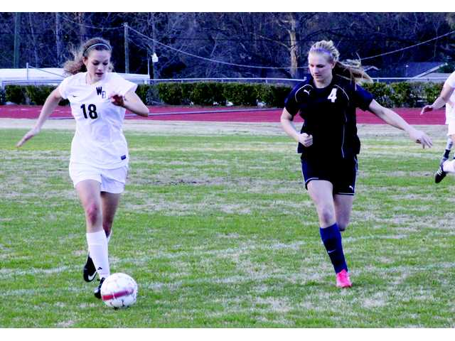 Lady Soccer Doggs prep for region in shutout win