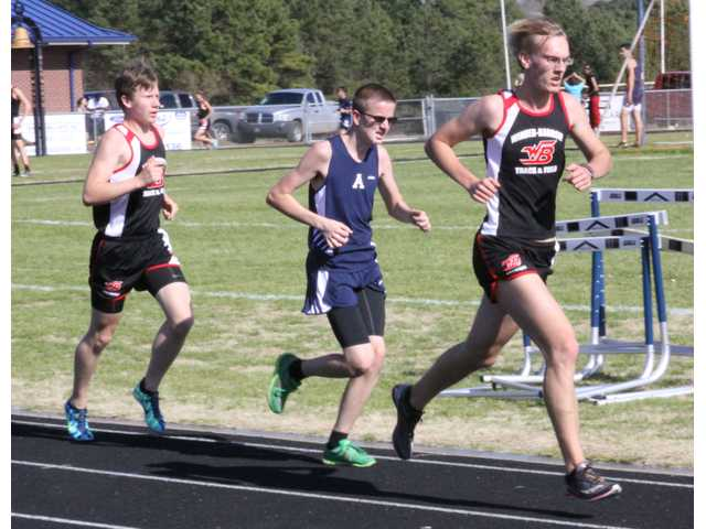 Barrow's best track and field athletes square off in dual meet