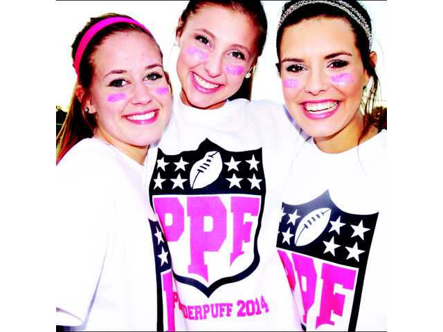 Powder puff game delights students