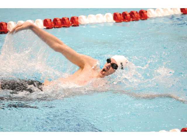 Barrow athlete gets to swim with nation's best Olympians