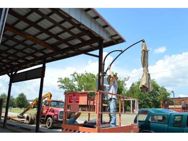 Work begins on deconstruction of Jug Tavern Park pavilion