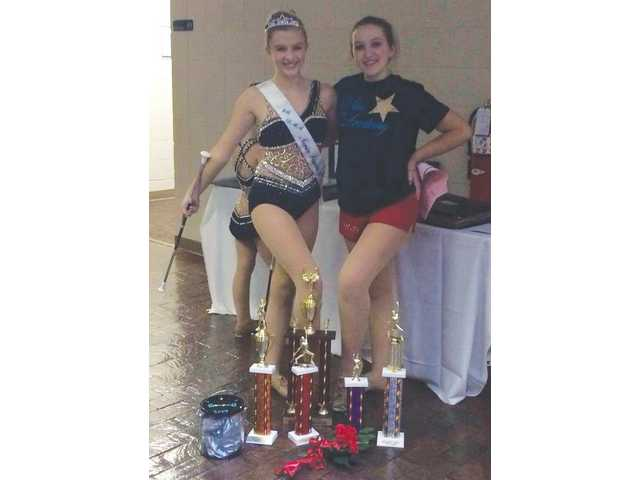Local twirlers rewarded at Nationals