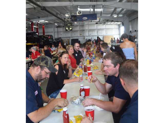 Olympic Steel, Akins Ford host event for Make-A-Wish