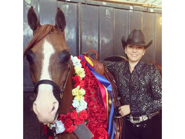 Lady with local ties excels at national event