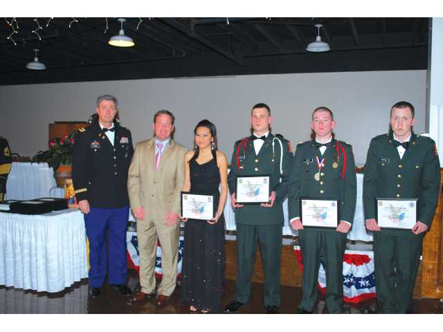 jrotc military ball. First JROTC Military Ball held