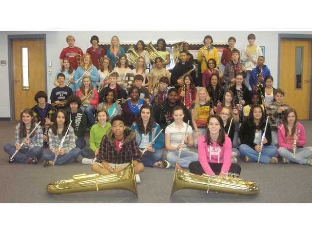 Stover Middle School band honors