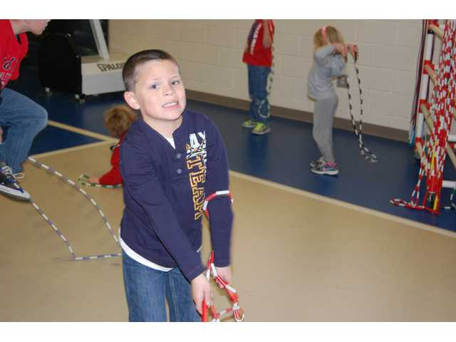 Blaney Elementary participates in Jump Rope for the Heart