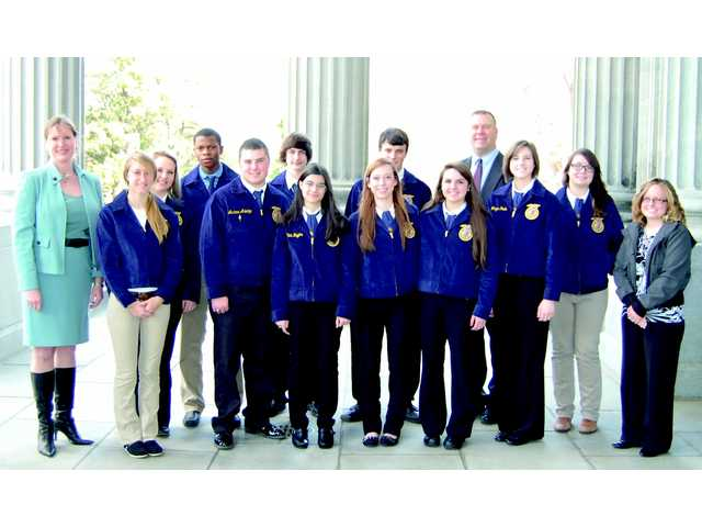 FFA members attend Legislators Appreciation Day