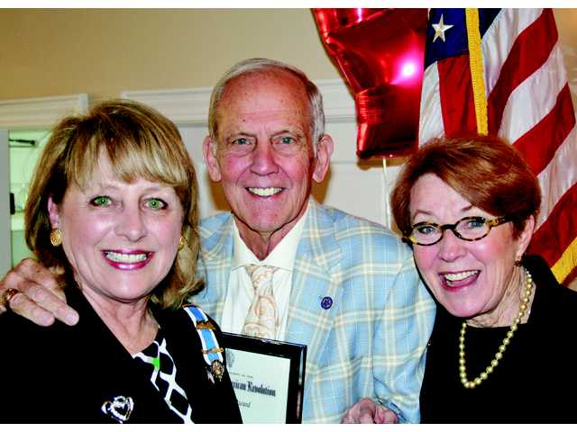 Jack Brantley receives DAR Community Service Award