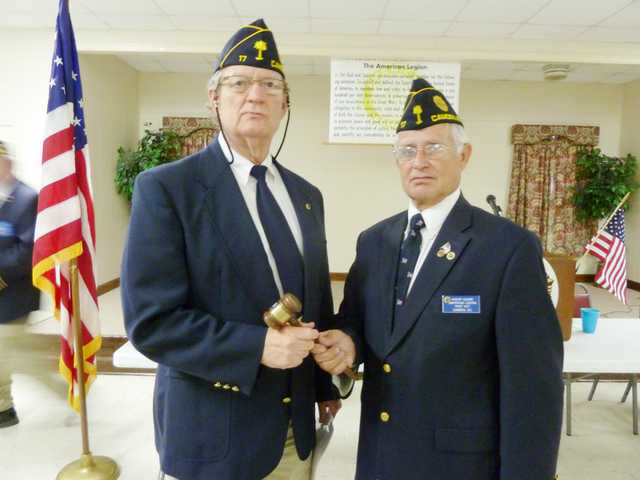Post 17 installs new officers