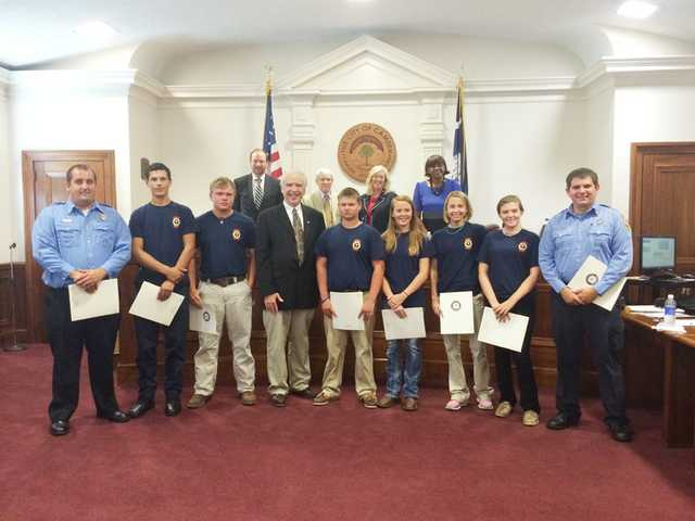 Council celebrates CFD Explorer accomplishments