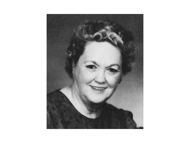 Mary Ruth Grose Richardson