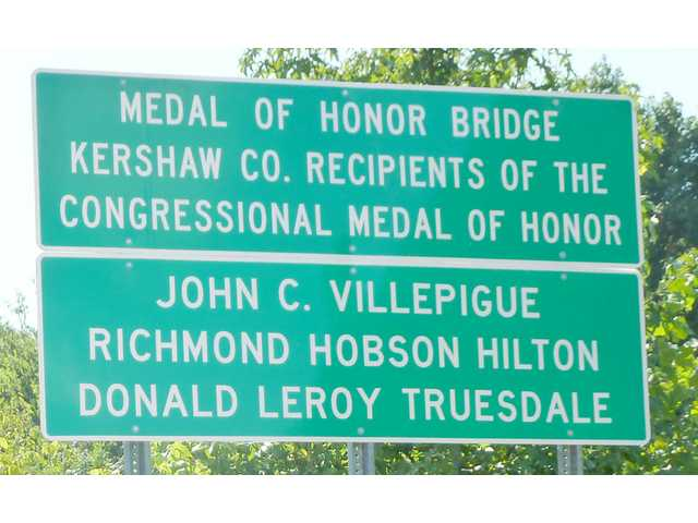 Medal of Honor winners honored with I-20 bridge naming