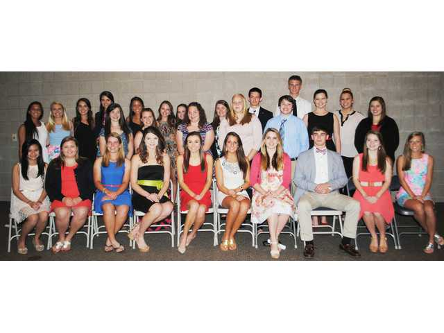Banquet recognizes All-County Academic Team