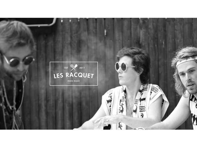 Brooklyn-based Les Racquet in town Friday