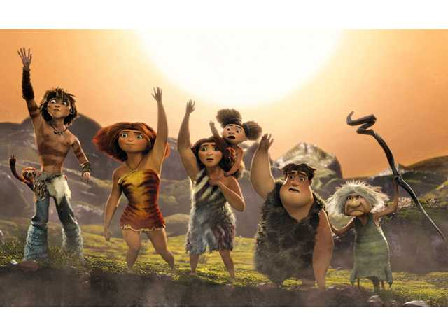 'The Croods' take box office top spot