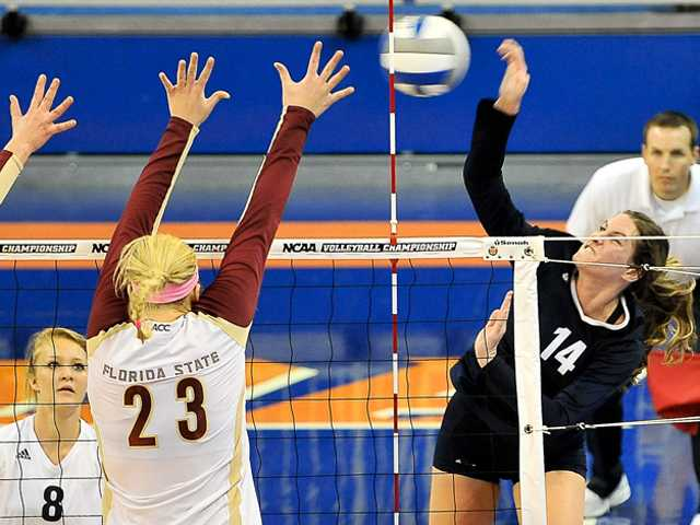 Volleyball season ends in Gainesville