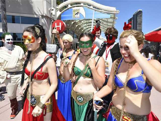 Women of Comic-Con protest harassment
