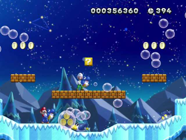 Old game, new tricks: 'Super Mario Bros. U'