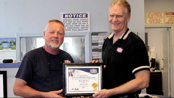 AAMCO recognized for customer service