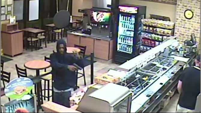 Subway on Sigman Road robbed