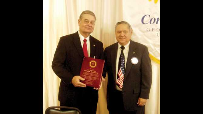 Conyers Rotary honors Judge Nation's service