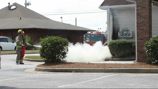 Electrical fire clears out medical office