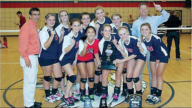 YACS wins volleyball state championship