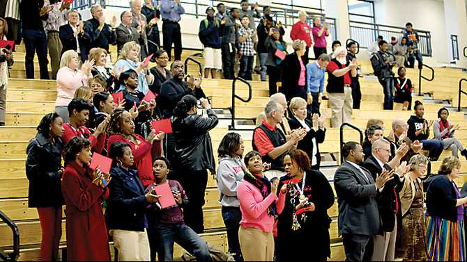 RCHS gym dedicated to Stroud