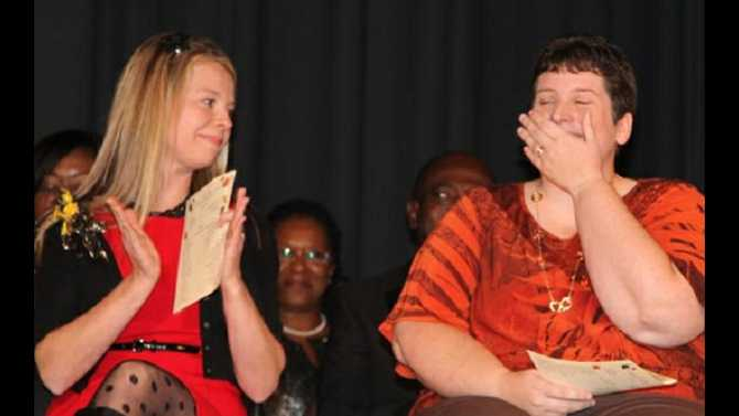 Autry named Rockdale 2012 Teacher of the Year