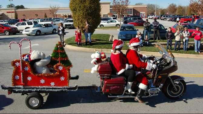 Conyers Riding Association Toy Run Dec. 1