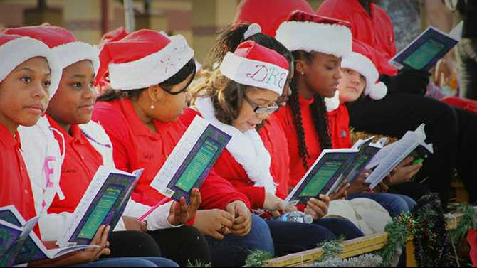 Hometown Holidays parade and tree lighting,  Dec. 1