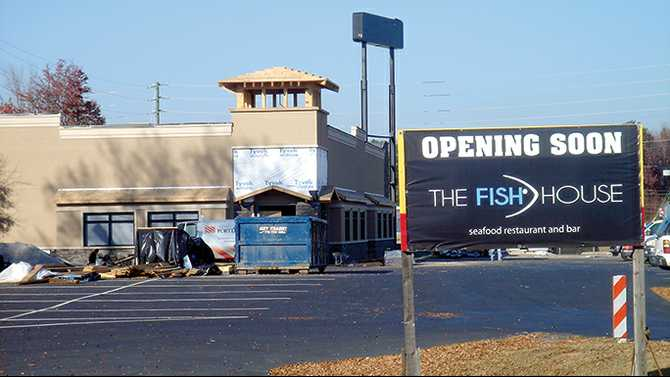 Seafood restaurant to open in February