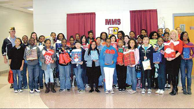MMS gives to veterans