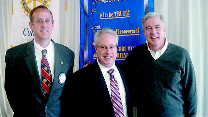 State Atty. Gen. Olens speaks at Conyers Rotary