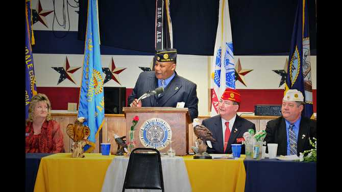 National Commander visits Post 77