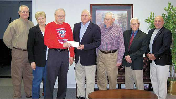 SSEMC donates to Honor Flight Conyers