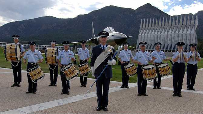 US Air Force Academy Band free concert Mar. 22