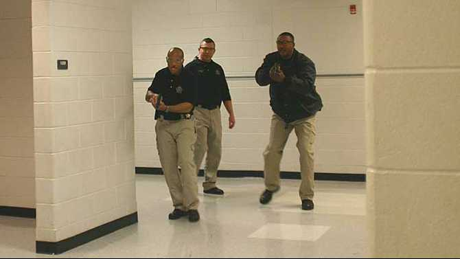 Sheriff's Office trains for school shooting scenario
